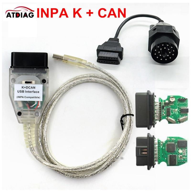 Интерфейсный USB-кабель для BMW INPA K + CAN K CAN INPA с чипом FT232RL и переключателем для BMW INPA K DCAN