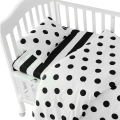 3pcs/set Ins crib bed linen,baby Beddingset(pillow case+bed sheet+duvet cover without filling)Suit for Crib Size Within 130*70cm