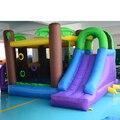 DHL FRETE GRÁTIS Jungle bounce casa jumper moonwalk bouncer corrediça inflável para as crianças