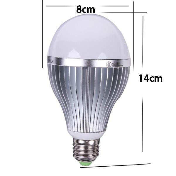 Nanguang CN-15 5600K 15W E27 LED Photo Studio Bulb Video Light Photography Lamp Daylight