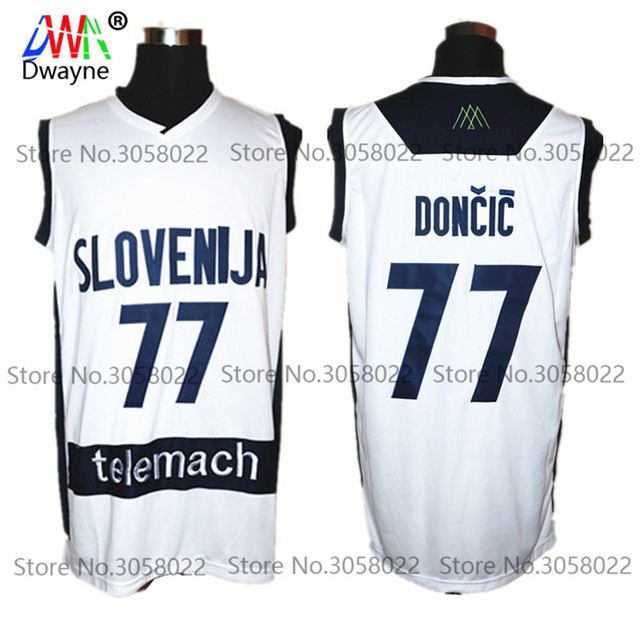 ... sweden mens dwayne 77 luka doncic jersey cheap throwback basketball  jersey slovenija team retro stitched shirts ... f78d762b5