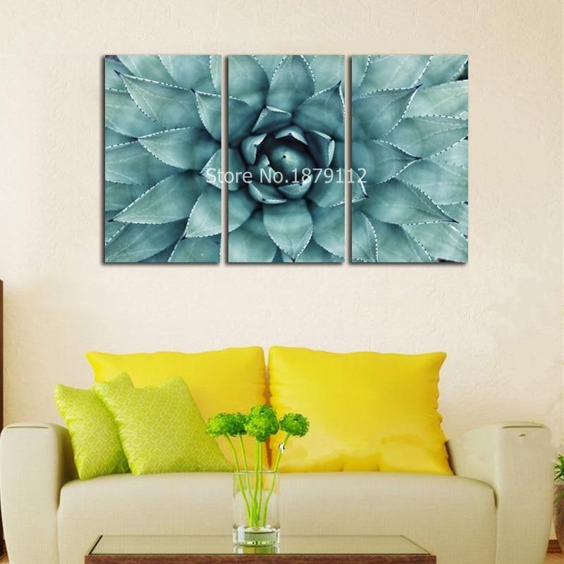 Aloe Vera Fresh Plant Unframed Painting Large Poster HD Print on ...