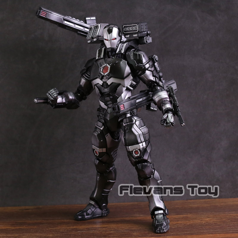 Marvel Universe Play Arts Kai War Machine PVC Action Figure Collectible Model Toy play arts kai marvel avengers infinity war super hero iron man war machine pvc action figure collectible model toy