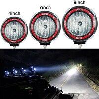 35 Вт 55 Вт 4 дюйма 7-дюймовый 9 inch круглый Xenon HID свет работы 4x4 дальнего спот Наводнение фары hid offroad прожектор Off Road лампы