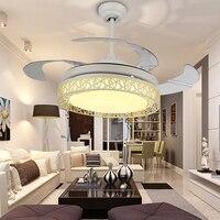 Modenr потолочный светильник вентилятор с дистанционным управлением для гостиной спальни кухонный светильник закрепленный ventilador de techo 42 дюйм