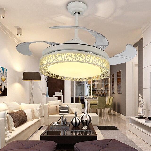 modenr plafonnier ventilateur tlcommande pour salon chambre cuisine luminaire ventilador de techo 42 pouces plafonnier - Ventilateur De Plafond Pour Chambre