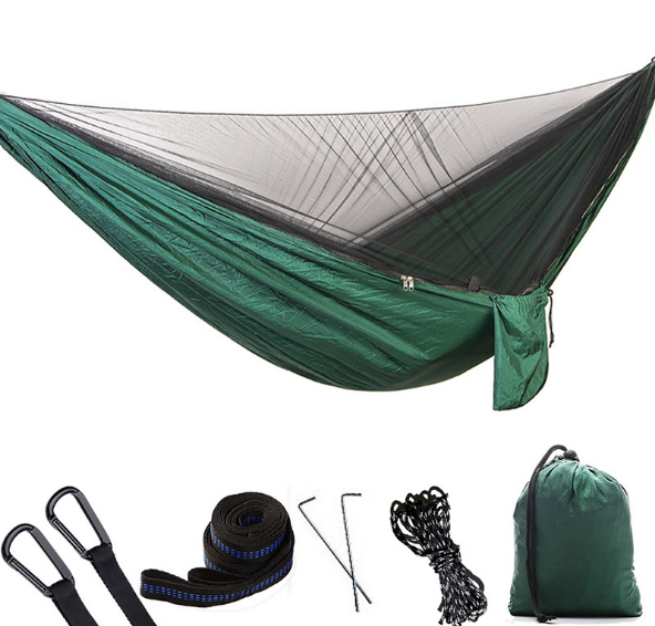 2018 New Fashion Mosquito Net Hammock Outdoor Single Double Nylon Parachute Cloth Camping Mosquito Hammock Simple Hammock Q3552018 New Fashion Mosquito Net Hammock Outdoor Single Double Nylon Parachute Cloth Camping Mosquito Hammock Simple Hammock Q355