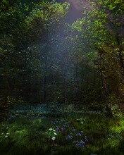 Fairy tale  theme Vinyl Custom Photography Backdrop Prop Photo Studio Backgrounds TTW-26 стоимость