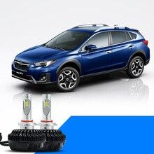 lsrtw2017 LED car headlight high beam low lights bulb for subaru xv 2012 2013 2014 2015 2016 2017 2018 2019
