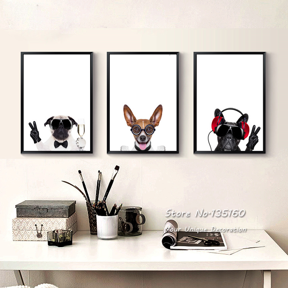 Online buy wholesale dog picture from china dog picture - Poster schlafzimmer ...