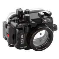 PRO 40 mt/130ft Wasserdichte Kamera Tauchen Gehäuse Fall für Canon EOS M6 22mm|Fotostudio-Zubehör|   -