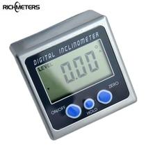Digitalen Winkelmesser Neigungsmesser Bevel Box Ebene Messwerkzeug Elektronische Winkelmesser Winkelsucher Winkel Gauge Magnetfuß