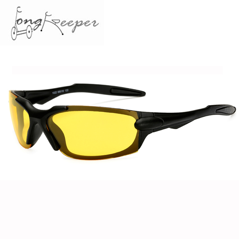 Long Keeper Night Vision Sunglasses High-End Driving Cycling Motorcycling Glasses