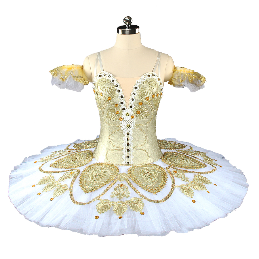 45f459a0d08 Velours beige Romantique Ballet Tutu robe filles longue robe de ballet pour  les filles