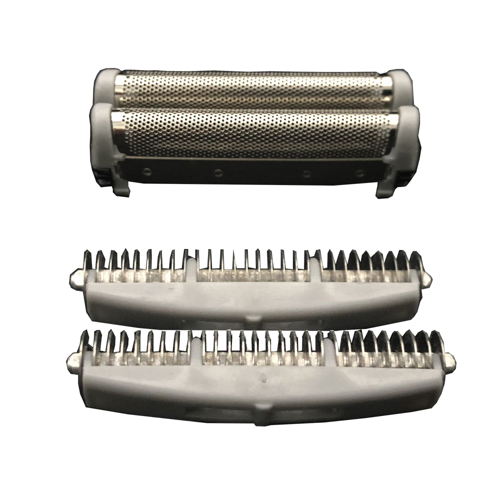 Shaver Head Replacement Foil&Cutter Fit for Remington SP67/SP-69 Microscreen 2 TCT Shavers Shaver Head Replacement Foil&Cutter Fit for Remington SP67/SP-69 Microscreen 2 TCT Shavers