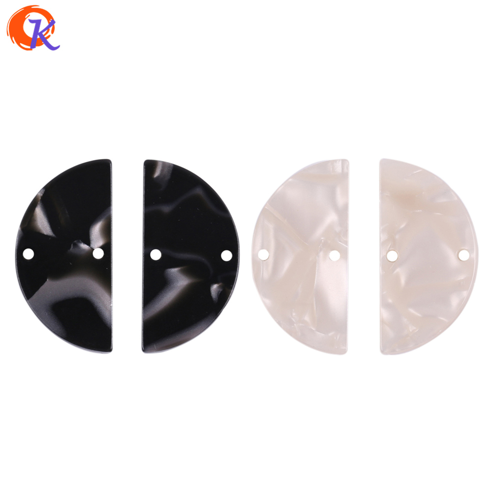 Cordial Design 14*29MM 50Pcs Jewelry Accessories/Hand Made/Acetic Acid/Earrings Jewelry Making/Coin Shape/DIY/Earring Findings