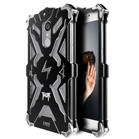 LOVE MEI For XIAOMI Redmi Note Case Aluminum Metal Armor Tempered Glass Waterproof Shockproof Full Protective