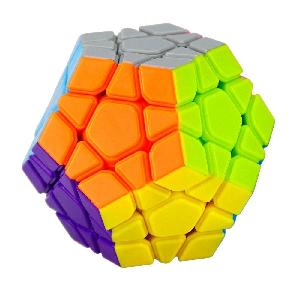 YJ Yongjun MoYu Yuhu Megaminx Magic Cube Vitesse Puzzle Cubes Enfants Jouets Jouet Éducatif