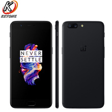 Оригинальный Oneplus 5 4 г LTE мобильный телефон 5,5 «Snapdragon 835 Octa Core 6 ГБ оперативная память 64 Встроенная Android 7,0 NFC телефон с распознаванием отпечатка пальца