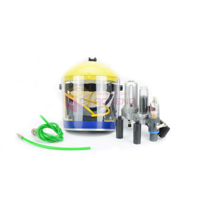 New Air Fed Visor Breathing Air Supply Protect Pro Mask Kit For Paint Spray Respirator Protection-in Tool Parts from Tools    3