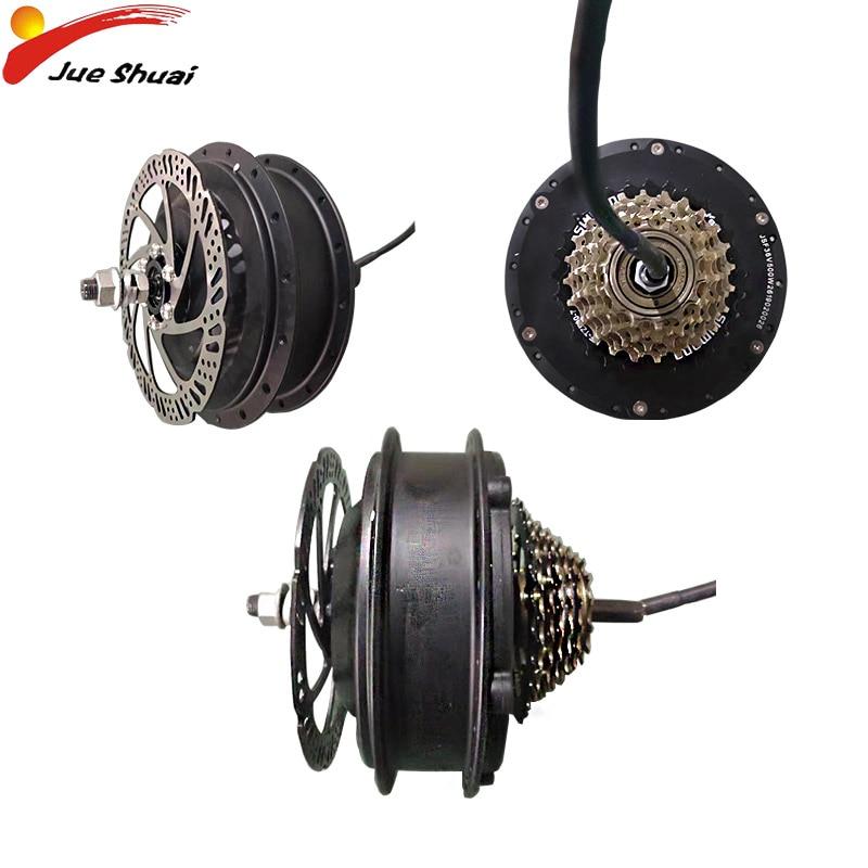 Электрический велосипед концентратор мотор 250 Вт 350 Вт 500 Вт Ebike электрическое преобразование велосипедов Комплект задний привод колеса при...