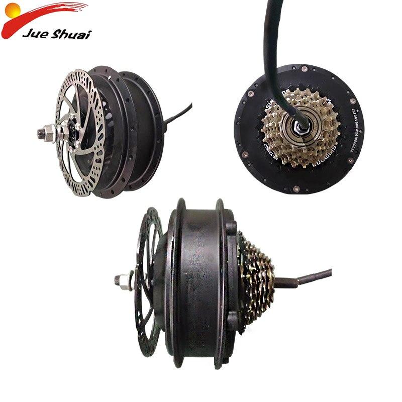 Motor de Bicicleta eléctrica, Kit de conversión de Bicicleta eléctrica, Motor de rueda trasera, sin escobillas, 250W, 350W, 500W