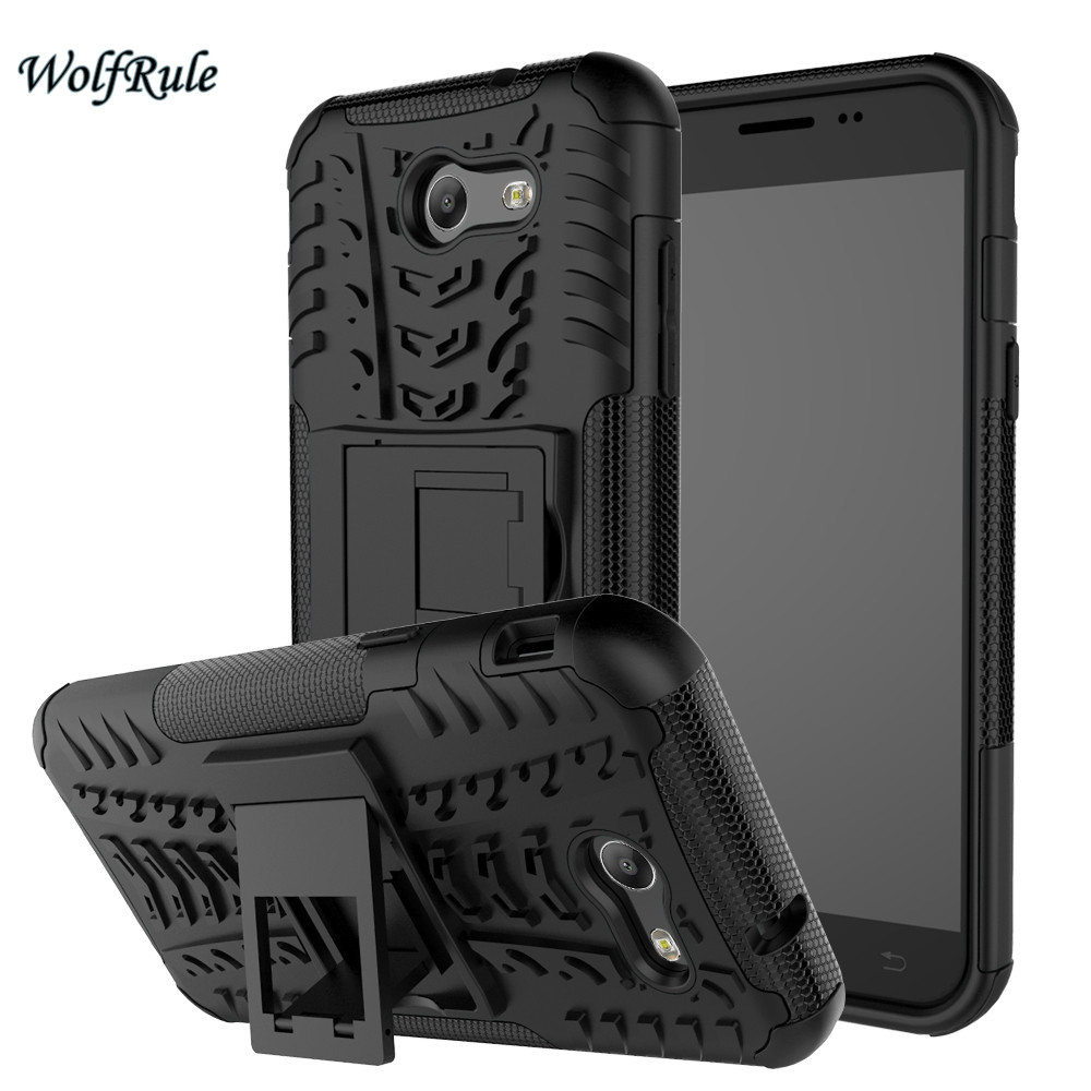 WolfRule For Cover <font><b>Samsung</b></font> Galaxy <font><b>J3</b></font> <font><b>2017</b></font> Case TPU & PC Stand Phone Case For <font><b>Samsung</b></font> Galaxy <font><b>J3</b></font> <font><b>2017</b></font> Cover <font><b>J3</b></font> Prime J327 image