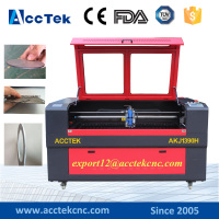 CNC laser metal cutting machine price , new Laser engraving machines for glass crystal arcylic on sale