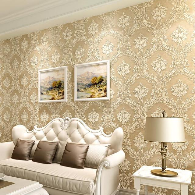 European classic large flowered wall paper non woven anaglyph 3d european classic large flowered wall paper non woven anaglyph 3d wallpaper background living room mightylinksfo