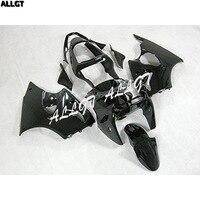 ABS впрыска черный мотоцикл обтекатель Наборы для 00 01 02 Kawasaki Ninja ZX6R 636 2000 2001 2002