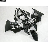 ABS Injection Black Motorcycle Fairing Kits for 00 01 02 Kawasaki Ninja ZX6R 636 2000 2001 2002