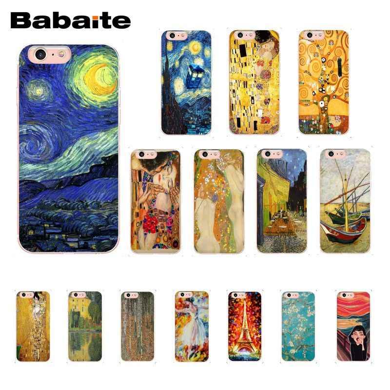 Babaite Vintage Van Gogh Art Painting Custom Phone Case For