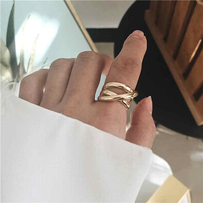 Hip hop Fashion Rings For Women Personality Statement Open Ring Jewelry 2019 Chic Bijoux