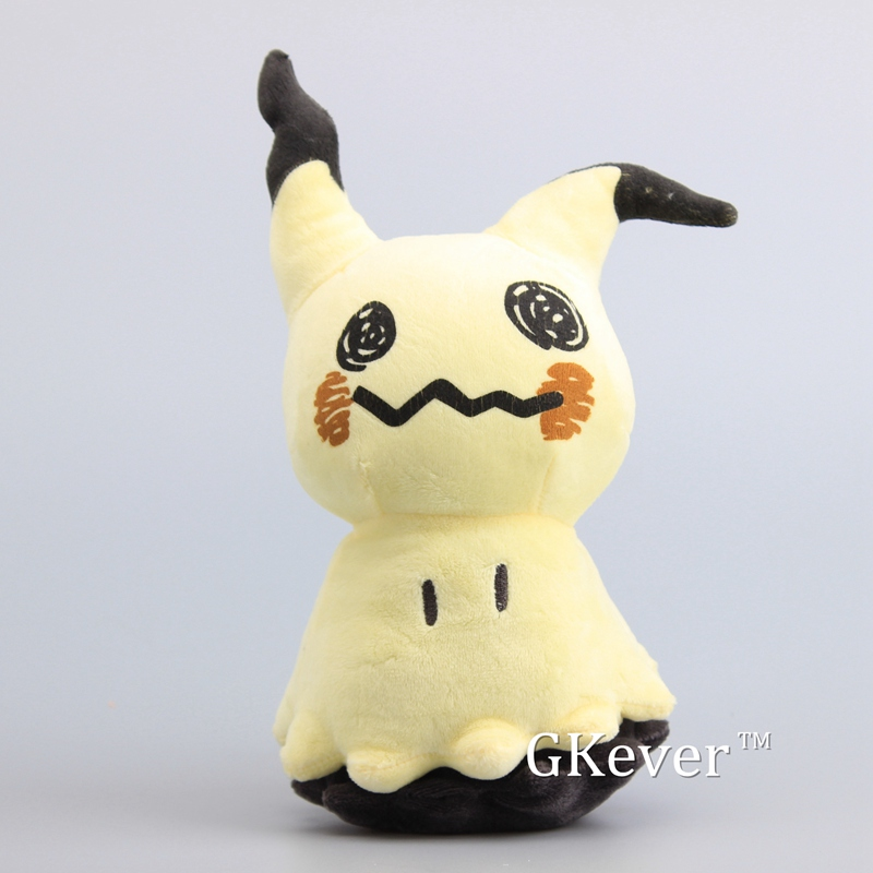 Anime doll Sun & Moon Mimikyu Pikachu Plush Toys Cute Soft Stuffed Dolls Kids Gift 10