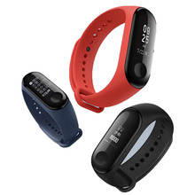 Original Xiaomi Mi band 3 Smart Watch OLED Display Heart Rate Monitor Bracelet freewristlet original xiaomi mi band 2 smart fitness bracelet watch wristband miband oled touchpad sleep monitor heart rate mi band2