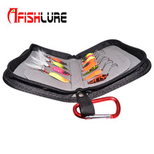 High Quality Black Spoon Package and Sequins Fishing Gear Pocket in