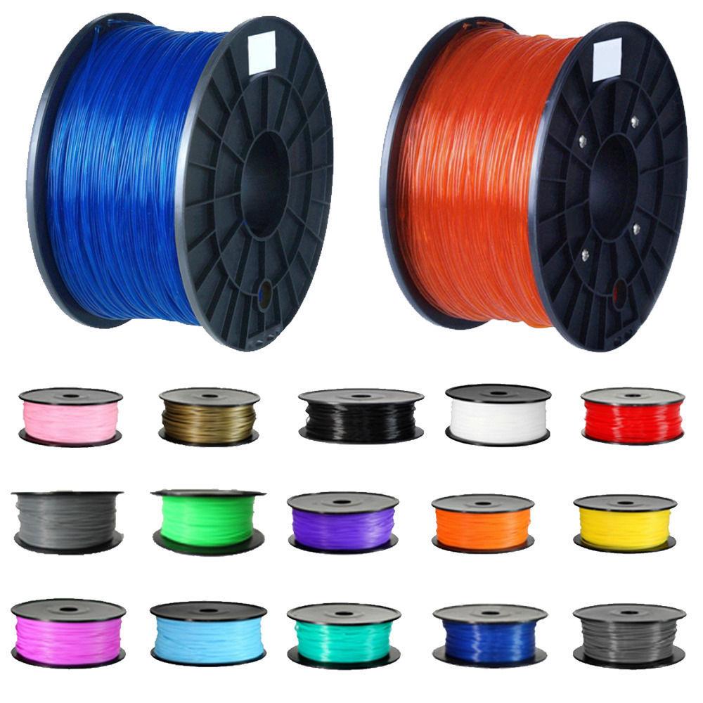 3D Printer Filament High Quality Orange Color Printer Supplies 1kg/2.2lb 1.75mm PLA Plastic for MakerBot RepRap Mendel big size 220 220 240mm high quality precision 3d printer diy kit with pla filament 8gb sd card and lcd for free