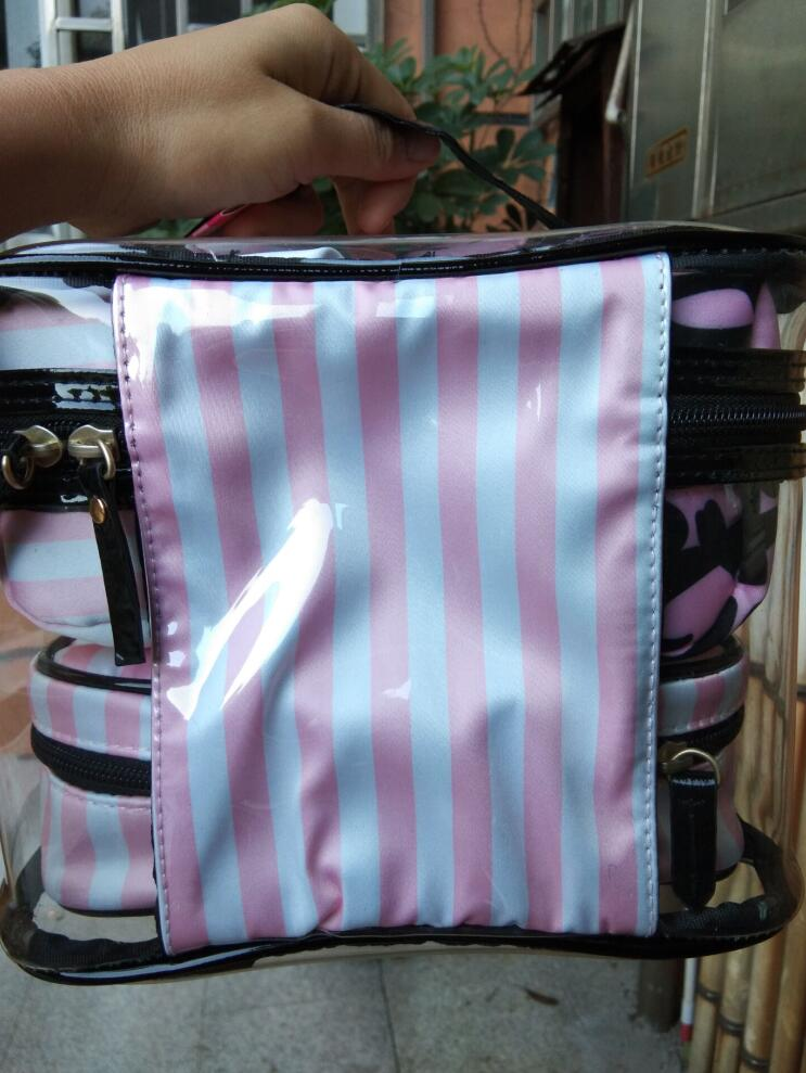 package Cosmetic bag makeup bag for necessary makeup tools kits, very popular nice ,good quality