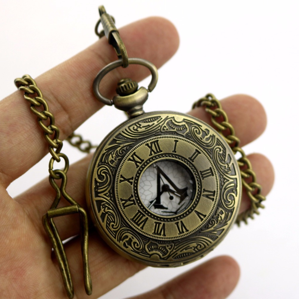 Favori Montre de poche Anime Film pour Assassins Creed Connor avait la  LI62