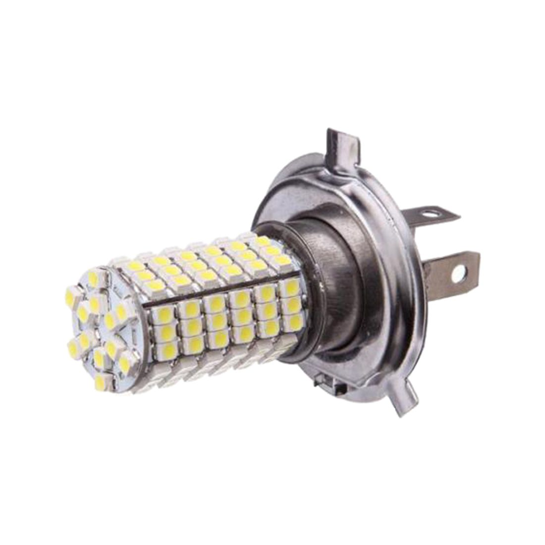 Car H4 120 LED 3528 SMD White Fog Headlight Bulb Head Light 12V Super Bright NEW l20121211 1 h7 12w 600lm 6500k 4 smd 7060 led white light car dipped headlight dc 12v