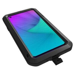 Image 4 - Funda de Metal Love Mei para Samsung Galaxy A9, A8, A6 Plus, 2018, A9S, A8S, S10, 5G Plus, S10E, A70, 2019, carcasa a prueba de golpes