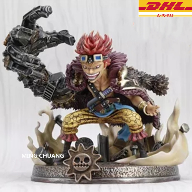 ONE PIECE Statue Supernova Devil Fruit Eustass Kid Bust Luffy Partner Full-Length Portrait GK Action Figure Model Toy BOX D241 anime one piece devil fruit fifth edition fruit line