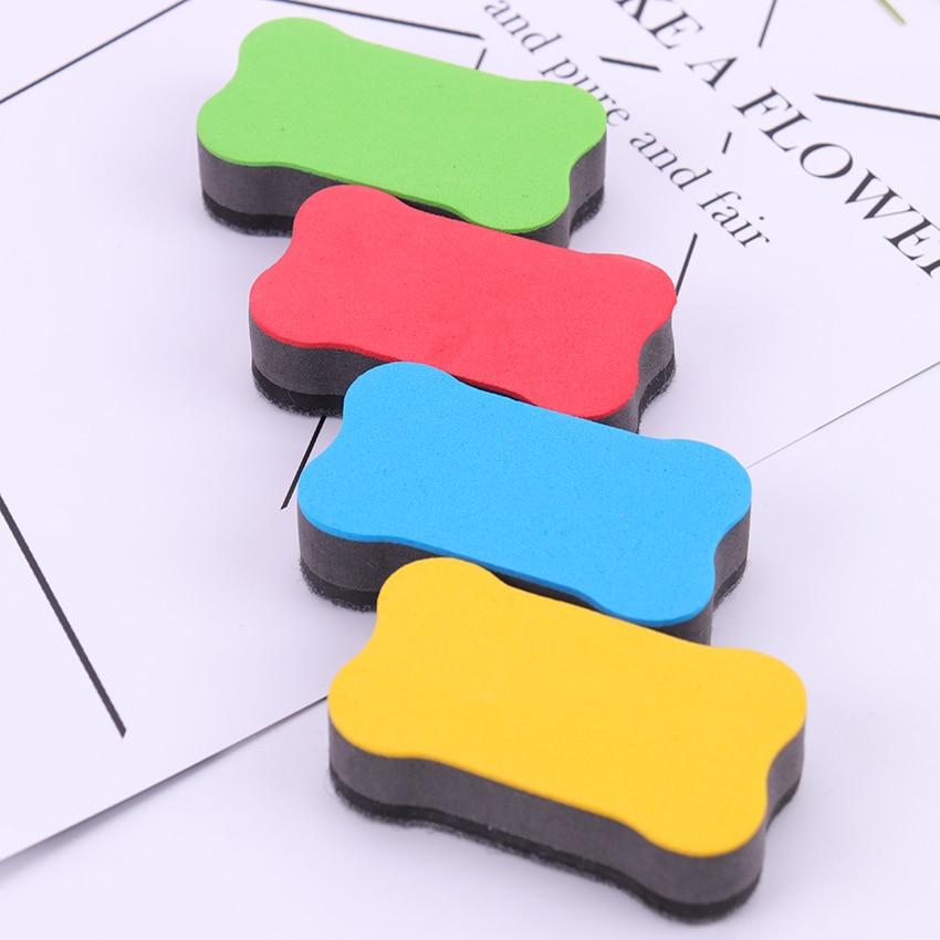 1 Pc Neue Nette Kawaii Magnetische Tafel Radiergummi Trocken Abwischbaren Marker Reiniger Schule Büro Whiteboard Bord Radiergummi