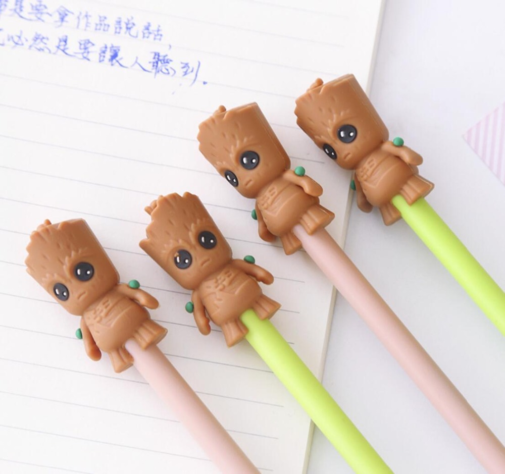 2 pcs/lot Cartoon Grutt Gel Pen Signature Pen Escolar Papelaria School Office Supply Promotional Gift 2 pcs lot