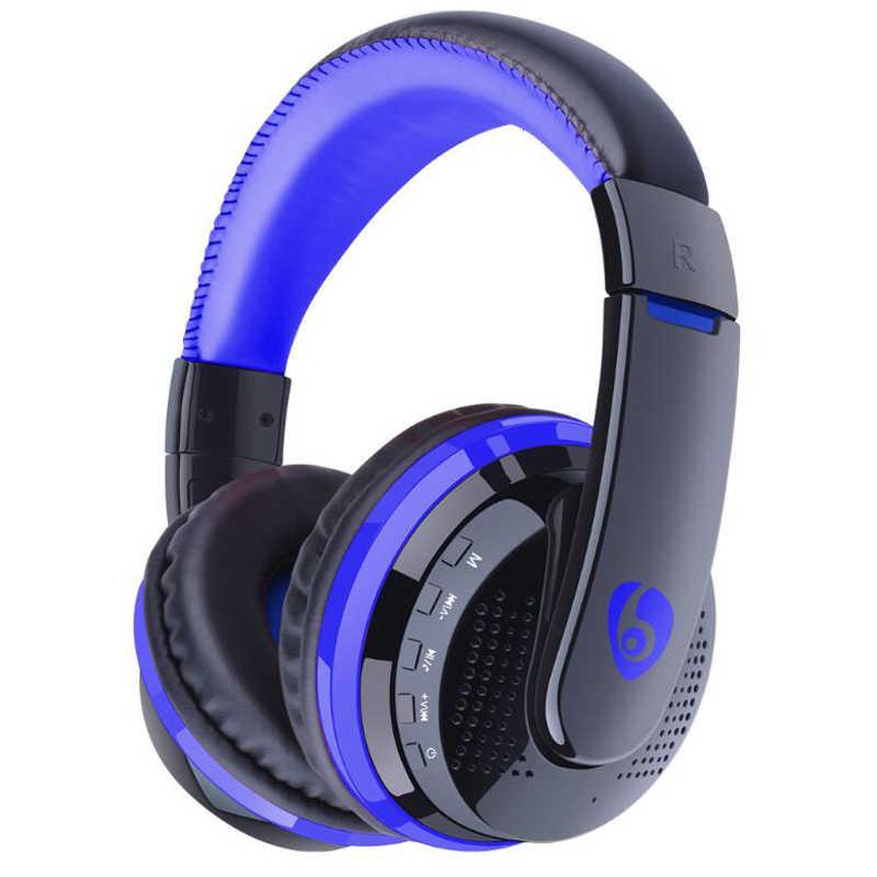Cáp 3.5mm Tai Nghe MP3 Người Chơi có Đài FM Thẻ Chơi Max 32 GB Bluetooth Tai Nghe Không Dây Tai Nghe Chụp Tai Dành Cho MÁY TÍNH Điện Thoại Trò Chơi TRUYỀN HÌNH