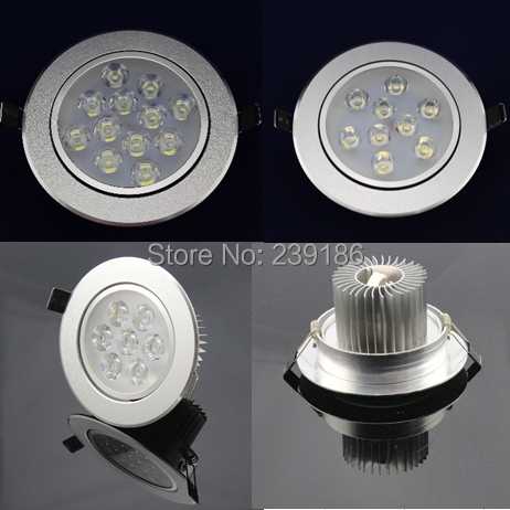 Downlights 1 pc 1w3w5w7w9w12w ac85-265v conduziu Color Temperature : 6000-6500k / 4000-4500k / 3000-3500k