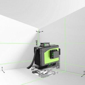 Image 5 - 16 line 4D laser level 360 Vertical And Horizontal Laser Level Self leveling Cross Line 4D Green Laser Level with outdoor