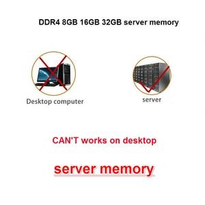 Image 2 - Samsung ddr4 ram 8gb 4GB 16GB PC4 2133MHz oder 2400MHz 2666MHZ 2400T oder 2133P 2666V ECC REG Server Speicher 4G 16g 8g ddr4