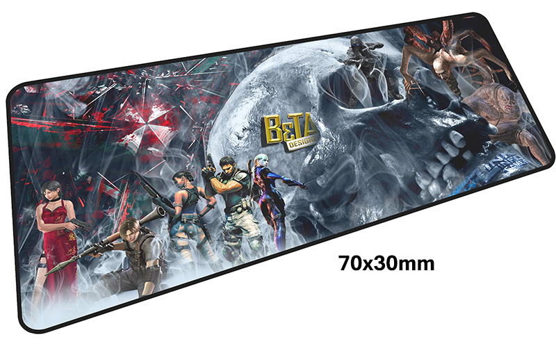 resident evil mousepad gamer 700x300X3MM gaming mouse pad large cool new notebook pc accessories laptop padmouse ergonomic mat