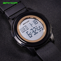 Sanda Brand New 2018 Sports Watches Men LED Electronic Digital Watch 30M Swim Outdoor Casual Military